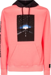 Marcelo Burlon X Close Encounter Printed Pink Hoodie