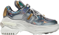 Margiela Silver Retro Fit Sneakers