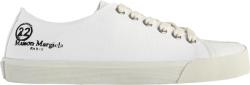 Margiela White Tabi Low Top Sneakers