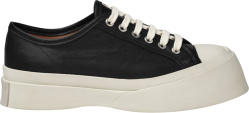 Marni Black Leather Pablo Sneakers