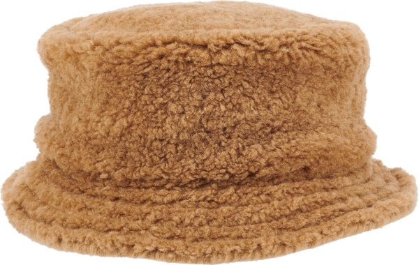 Marni Brown Faux Fur Hat
