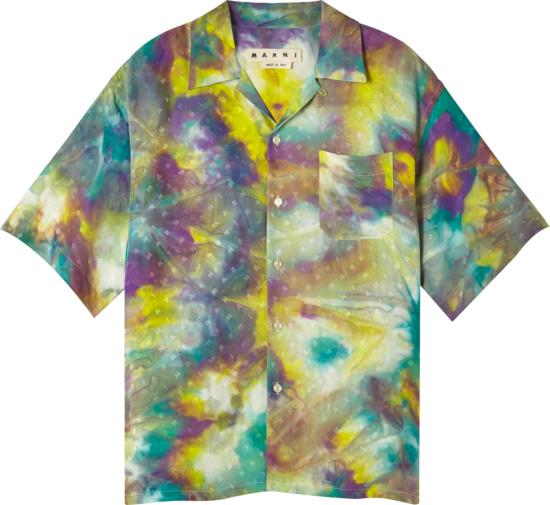 Marni Multicolor Tie Dye Shirt