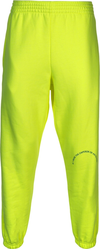 Martine Rose Neon Yellow Sweatpants