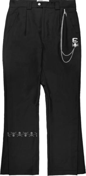Mastermind Japan X C2h4 Black Accumulation Streamline Pants