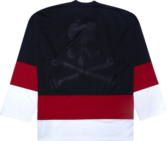 Mastermind World Black Red White Hockey Jersey