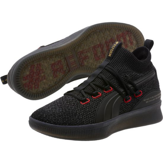 official photos 597f8 f4477 Puma Clyde Court Reform Basketball Shoes X Meek Mill