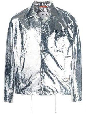 Metallic Jacket Worn By Rich The Kid