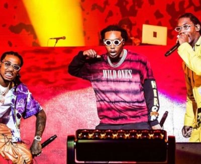 Migos Performing In Morocco In Amiri Heron Preston Chanel And A Cold Wall