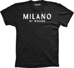 Milano Di Rogue Black T Shirt