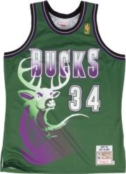 Milwaukee Bucks Green Deer #34 Ray Allen Jersey