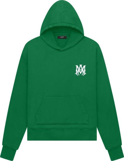 Miri Green Ma Bones Logo Hoodie