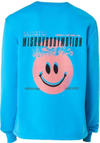 Misbhv Smiley Face Print Sweatshirt