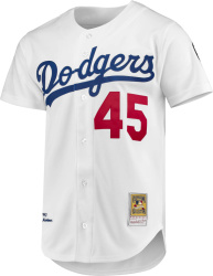 Mitchell And Ness 1993 Los Angeles Dodgers 45 Pedro Martinez Jersey