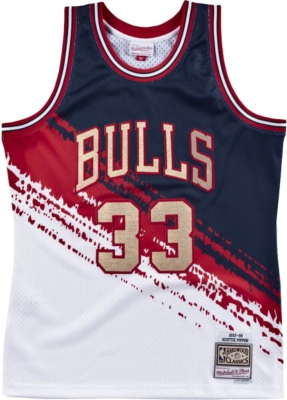 Mitchell And Ness Scotty Pippin Bulls Jersey