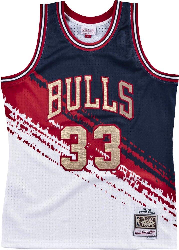 Mitchell And Ness Scotty Pippin Bulls Jersey