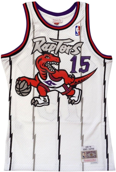 Mitchell And Ness Toronto Raptors Vince Carter Jersey