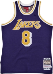 Mitchell And Ness X Clot Purple Knit Kobe Bryant Jersey