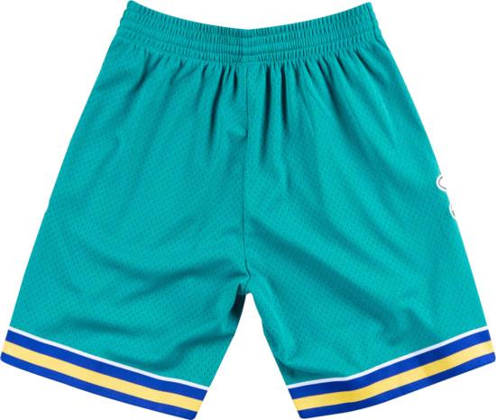 Mitchell Ness Swingman Shorts New Orleans Hornets Road 2005 06