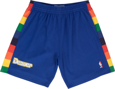 Mitchell & Ness Denver Nuggets Blue Shorts