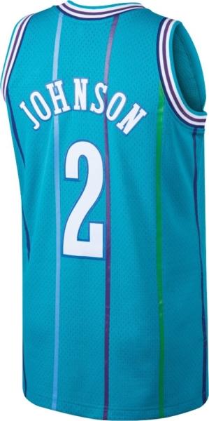 Mitchell & Ness Larry Johnson Charlotte Hornets Jersey