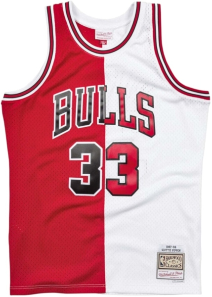 Mitchell & Ness Split Home And Away Scotty Pippin Jersey