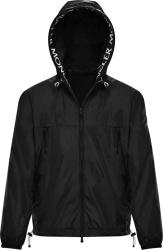 Moncler Black 'massereau' Jacket G10911a7380054155