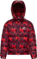 Moncler Allover Logo Print Frioland Puffer Jacket