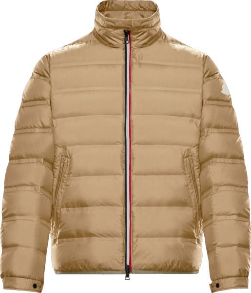 Moncler Beige Helfferich Padded Jacket
