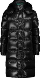 Moncler Black Hanoverian Long Puffer Coat Jacket