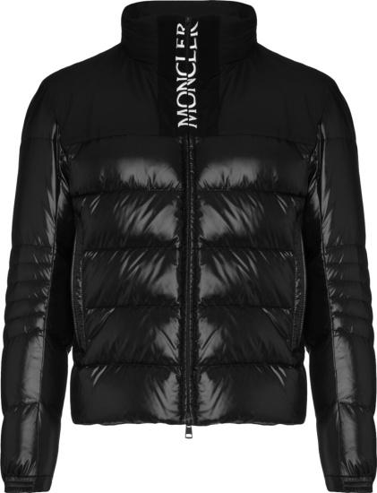 Moncler Black Bruel Puffer Jacket