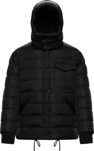 Moncler Black Gaite Puffer Jacket
