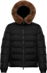 Moncler Black Marquee Puffer Jacket
