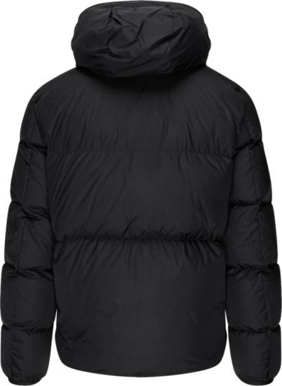 Moncler Black Moncla Down Jacket