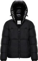 Black 'Moncla' Puffer Jacket