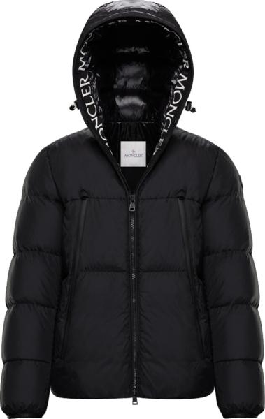 Moncler Black Montcla Jacket