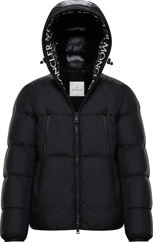 Black 'Moncla' Puffer Jacket