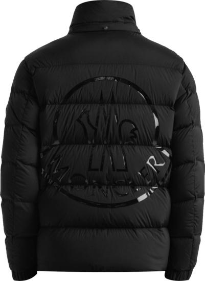 Moncler Black Pallardy Puffer Jacket