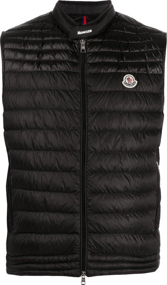 Moncler Black Quilted Vest