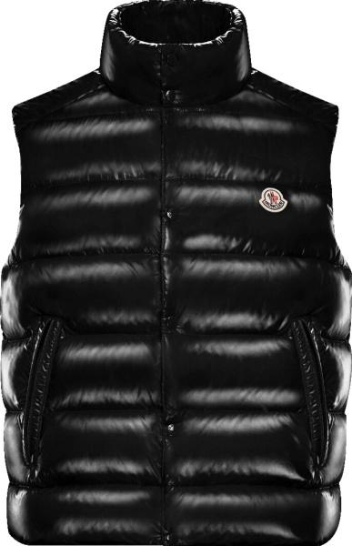 Moncler Black Tib Puffer Vest