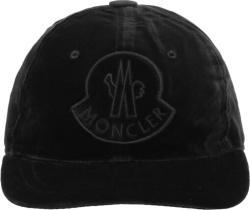 Moncler Black Velvet Hat