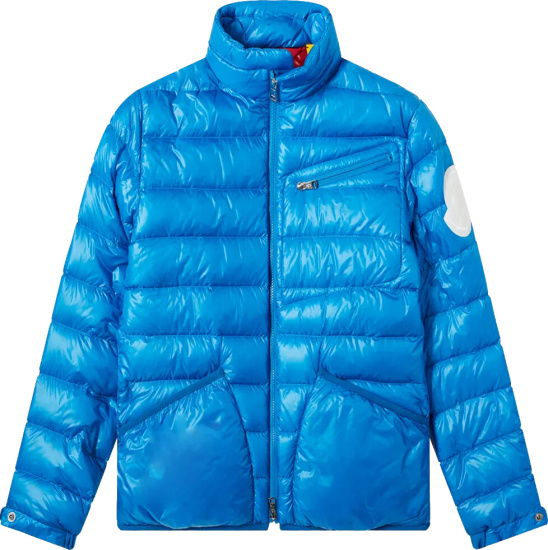 Moncler Blue Liam Puffer Jacket