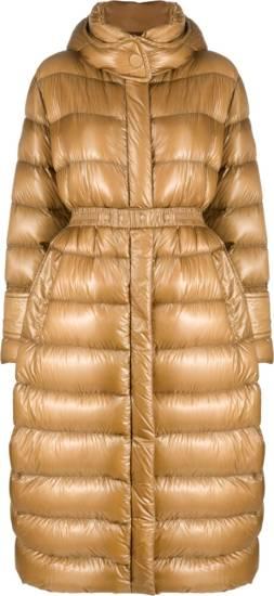 Moncler Bronze Puffer Jacket