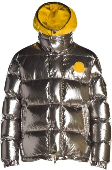 Moncler Genius Silver 'prele' Puffer Jacket
