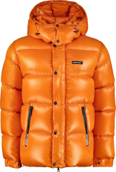Moncler Genius X Fragment Design Orange Hanriot Puffer Jacket