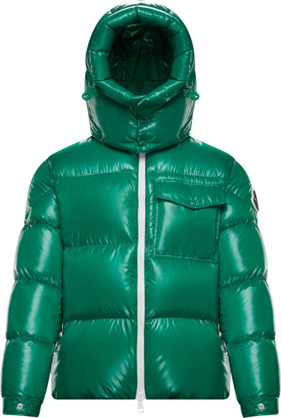 Moncler Green Vignemale Puffer Jacket