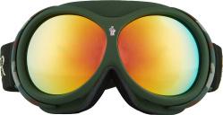 Green Camo Ski Goggles