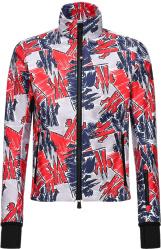 Moncler Grenoble Allover Logo Print Ski Jacket