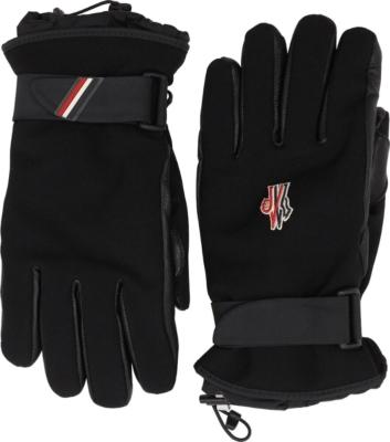 Moncler Grenoble Black Gloves