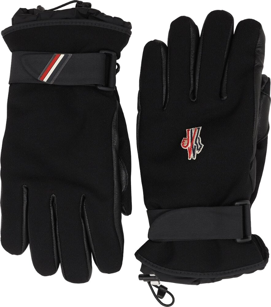 Moncler Grenoble Black Gloves