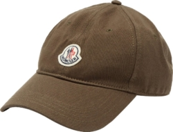Moncler Khaki Adjustable Hat